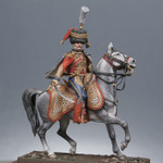 Metal Modeles - Mounted Colonel, 6th Hussars, 1809