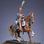 Metal Modeles - Mounted Superior Officer,  Polish Guard Lancers, 1810