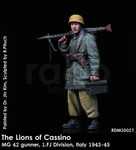 Rado Miniatures - The Lions of Cassino / MG 42 gunner, 1. FJ Division, Italy 1943-45