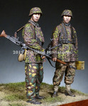 "Alpine Miniatures - MG Team 12th SS ""HJ"" Set"