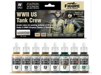 Vallejo - WWII Tank Crew Model Color Paint Set
