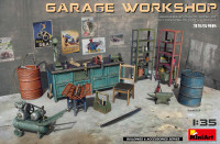Miniart Models - Garage Workshop: Equipment & Tools