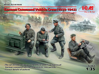 ICM Models - German Command Vehicle Crew 1939-1942