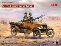 ICM Models - ANZAC Drivers, 1917-1918