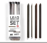 AK Interactive - Lead Weathering Hard Pencil Set