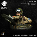 Pegaso Models - U. S. Sherman Commander, Normandy 1944