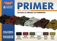 Lifecolor - Primer Acrylic Set