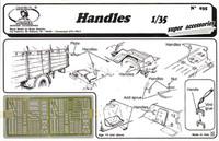 Royal Model - Handles, various types (Photo-Etch)
