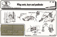 Royal Model - Wing Nuts, Keys, Padlocks (Photo-Etch)