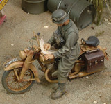 Royal Model - WWII DKM German Motorcycle Rider