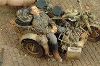 Royal Model - WWII Waffen SS Grenadier Sleeping