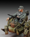 Royal Model - WWII German Infantry Taking a Cigarette Break, Sitting