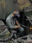 Royal Model - Man using Electric Welder, Sitting