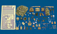 Royal Model - WWII German Army Equipment: pouches, helmets, straps, etc.