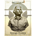 Dolman Miniatures - Major George Preddy, WWII P-51 Mustang Ace