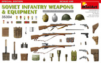 Miniart Models - WWII Soviet Infantry Weapons & Equipment (Special Edition)