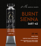 Scale 75: Scale Artist Tubes - Burnt Sienna