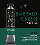 Scale 75: Scale Artist Tubes - Emerald Green