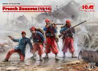 ICM Models - WWI French Zouaves, 1914