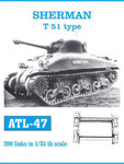 Friulmodell KFT - Sherman Tracks T51 Type - Now with individual pins for track pivots