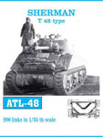 Friulmodell KFT - Sherman Tracks T48 Type - Now with individual pins for track pivots