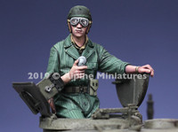 Alpine Miniatures - US Tank Commander, Spring