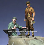 Alpine Miniatures - US Tank Commander Set, Spring