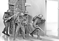 Masterbox Models - British Infantry Western Europe, 1944-45