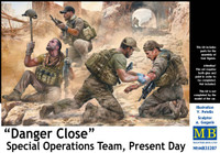 Masterbox Models - Danger Close Special Operations Team, Present Day