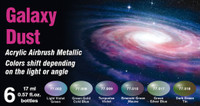 Vallejo - Galaxy Dust Colorshift Metallic Paint Set