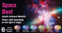 Vallejo - Space Dust Colorshift Metallic Paint Set