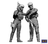 Masterbox Models - Modern War Route Change, Elite Unit Male & Female Soldiers