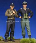 Alpine Miniatures - WSS Panzer Cew Set