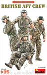 Miniart Models - British AFV Crew (4)