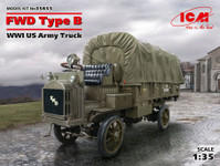 ICM Models - WWI US FWD Type B Army Truck