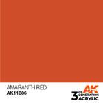 AK Interactive: 3rd Generation Acrylic - Amaranth Red