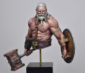 Black Sun Miniatures - Bress, The Old Barbarian