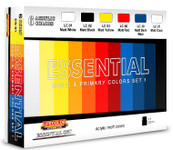 Lifecolor - Essential Basic & Primary Colors Acrylic Set #1