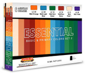 Lifecolor - Essential Basic & Primary Colors Acrylic Set #2