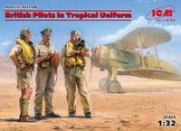 ICM Models - British Pilots in Tropical Uniform, 1939-1943