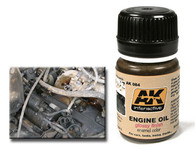 AK Interactive - Glossy Engine Oil Effects