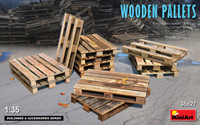 Miniart Models - Wooden Pallets