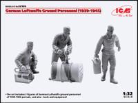 ICM Models - German Luftwaffe Ground Personnel 1939-1945