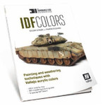 Vallejo - Armoured Side IDF Colors Painting & Weathering Techniques w/Acrylics Book