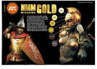 AK Interactive - Non-Metallic Gold