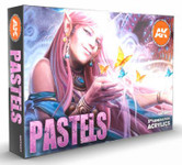 AK Interactive - Pastels Acrylic Paint Set