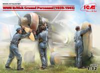 ICM Models - WWII British Ground Personnel, 1939-1945