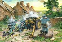 ICM Models - 7.62cm PaK 36(r) Gun w/4 Crew