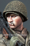 Alpine Miniatures -  US Infantry Head Set #3