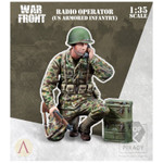 Scale 75: Warfront- Radio Operator, U.S. Armored Infantry